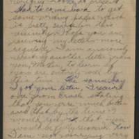 1919-01-25 Thomas Messenger to Mr. & Mrs. N.H. Messenger Page 2