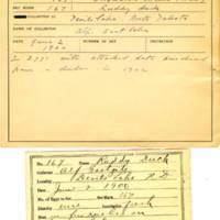 Thomas Wilmer Dewing, egg card # 123