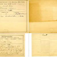 Thomas Wilmer Dewing, egg card # 769u