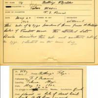 Thomas Wilmer Dewing, egg card # 659u