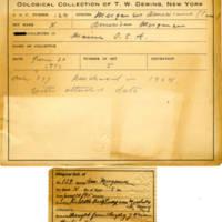 Thomas Wilmer Dewing, egg card # 088