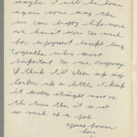 1942-08-14 Lloyd Davis to Laura Davis Page 2