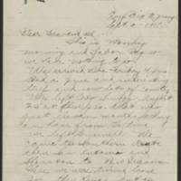 1918-09-02 Thomas Messenger to Mrs. Ress Wade Page 1