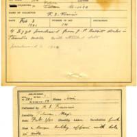 Thomas Wilmer Dewing, egg card # 266