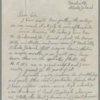 1945-03-28 Richard H. Pringle to Dave Elder Page 1