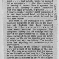 "1951-11-03 Burlington Hawkeye Gazette Letter: ""Self-Survey"""