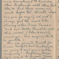 1918-08-22 Daphne Reynolds to Conger Reynolds Page 6
