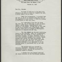 1947-10-10 Henry J. Kroeger to Mrs. Dorothy Schramm Page 1