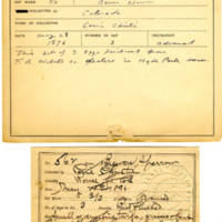 Thomas Wilmer Dewing, egg card # 447