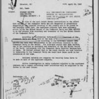 Edna Griffin's FBI file, April 1948-October 1951