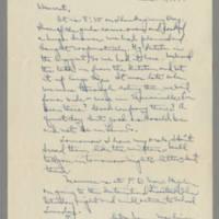 1941-11-27 Laura Davis to Lloyd Davis Page 1