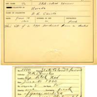 Thomas Wilmer Dewing, egg card # 469