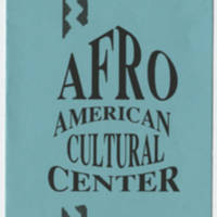 The University of Iowa Afro American Cultural Center Page 1