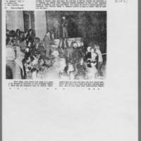 """1970-05-08 Iowa City Press-Citizen Article: """"""""Officials Show Strain From Long Week"""""""" Page 3"""