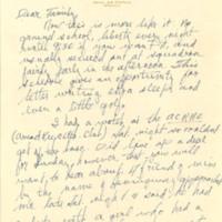 Nile Kinnick correspondence, June-August 1942