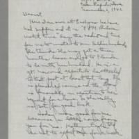 1942-11-06 Laura Davis to Lloyd Davis Page 1