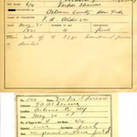 Thomas Wilmer Dewing, egg card # 720u