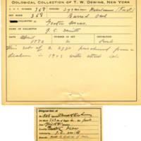 Thomas Wilmer Dewing, egg card # 247