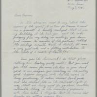 1942-05-07 Maurice Hutchison to Laura Frances Davis Page 1