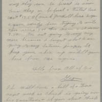 1942-08-18 George Davis to Lloyd Davis Page 3