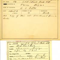 Thomas Wilmer Dewing, egg card # 823u