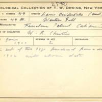 Thomas Wilmer Dewing, egg card # 034