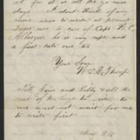 1861-05-12 William E. Thorpe to Alfred Thorpe Page 4