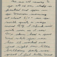 Laura Hutchison Davis letters from her husband, October-December 1942