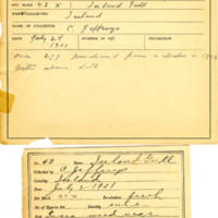 Thomas Wilmer Dewing, egg card # 032