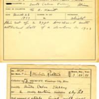 Thomas Wilmer Dewing, egg card # 222