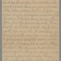1945-04-09 Laura Hutchison to Laura Frances Davis Page 2