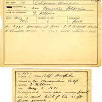 Thomas Wilmer Dewing, egg card # 295