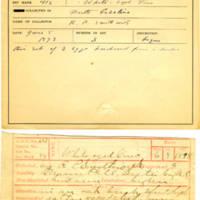 Thomas Wilmer Dewing, egg card # 510