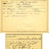 Thomas Wilmer Dewing, egg card # 111