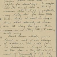 1945-05-21 Freda Caldwell to Laura Frances Davis Page 2