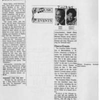 "1967-01-17 """"Simon Estes In Benefit Concert"""" 1964-07-13 """"Music Events"""""