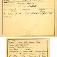 Thomas Wilmer Dewing, egg card # 507