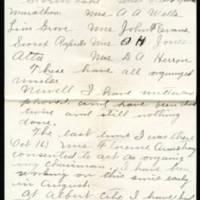 1917-10-19 Mrs. C.T. Millard to Mrs. Whitley Page 2