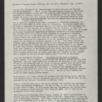 """1971-02-13 Newsletter: """"""""LULAC Glances"""""""" Page 3"""