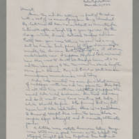 1942-12-31 Laura Davis to Lloyd Davis Page 1