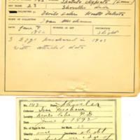 Thomas Wilmer Dewing, egg card # 105