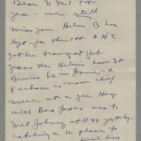 1945-05-05 Joyce Gale to Helen Fox Page 1