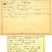 Thomas Wilmer Dewing, egg card # 180