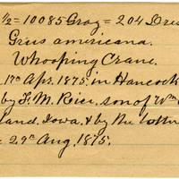 Clinton Mellen Jones, egg card # 170