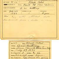 Thomas Wilmer Dewing, egg card # 066
