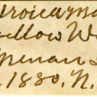 Clinton Mellen Jones, egg card # 389