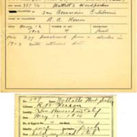 Thomas Wilmer Dewing, egg card # 286