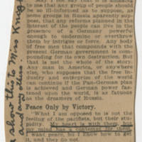 1917-11-14 Robert M. Browning to Miss Mabel C. Williams Page 2 - Clipping