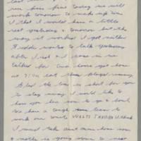 1942-02-13 Lloyd Davis to Laura Davis Page 2