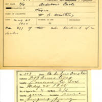 Thomas Wilmer Dewing, egg card # 709u